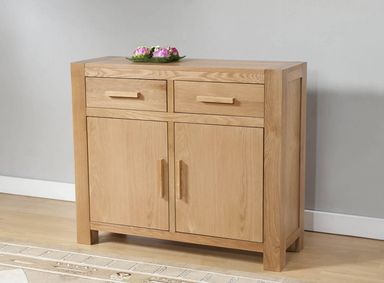 Oak Sideboards | Oak Furniture Uk inside Small Sideboards (Image 9 of 30)