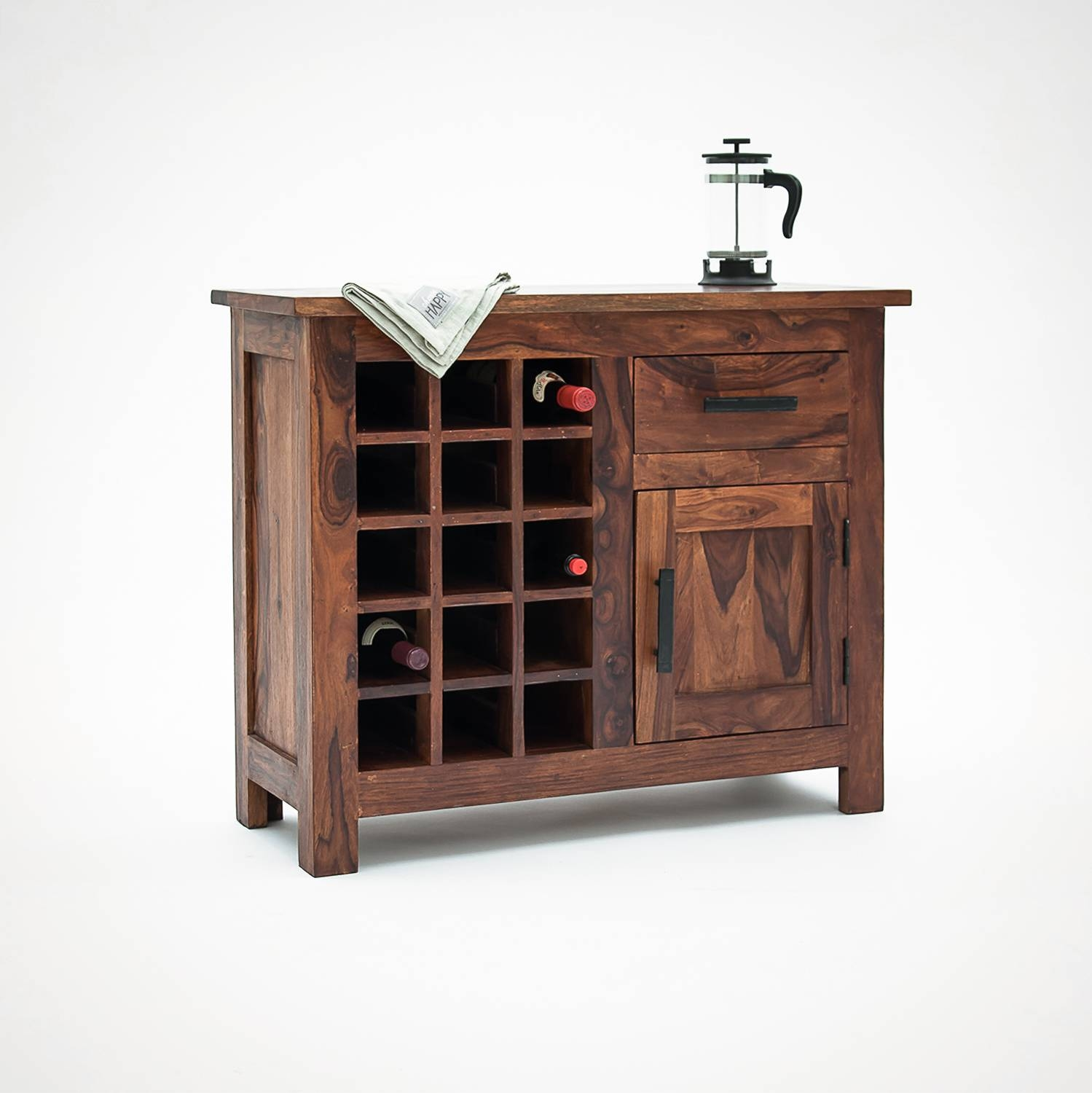 Oak Sideboards With Wine Rack | Mpfmpf Almirah, Beds pertaining to Sideboards With Wine Racks (Image 14 of 30)