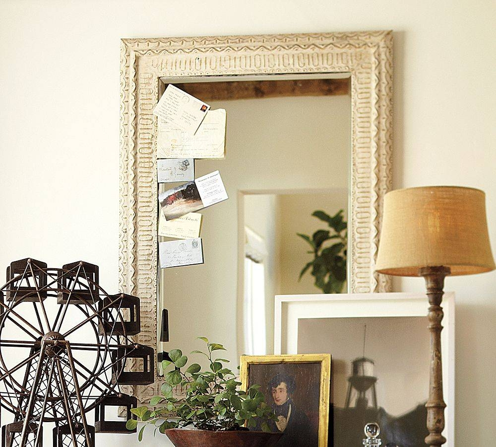 Ohhhhhhh I Love The Barn! Pottery Barn, That Is ! | Vintage inside Pressed Tin Mirrors (Image 14 of 25)
