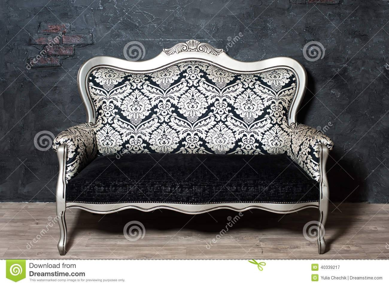 Old-Fashioned Sofa Stock Photo - Image: 40339217 within Old Fashioned Sofas (Image 16 of 30)