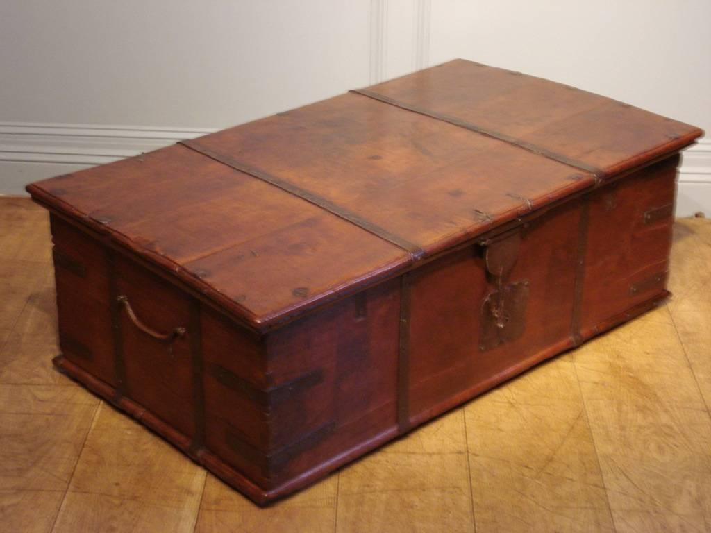 Old Trunk Coffee Table | Idi Design in Large Trunk Coffee Tables (Image 21 of 30)