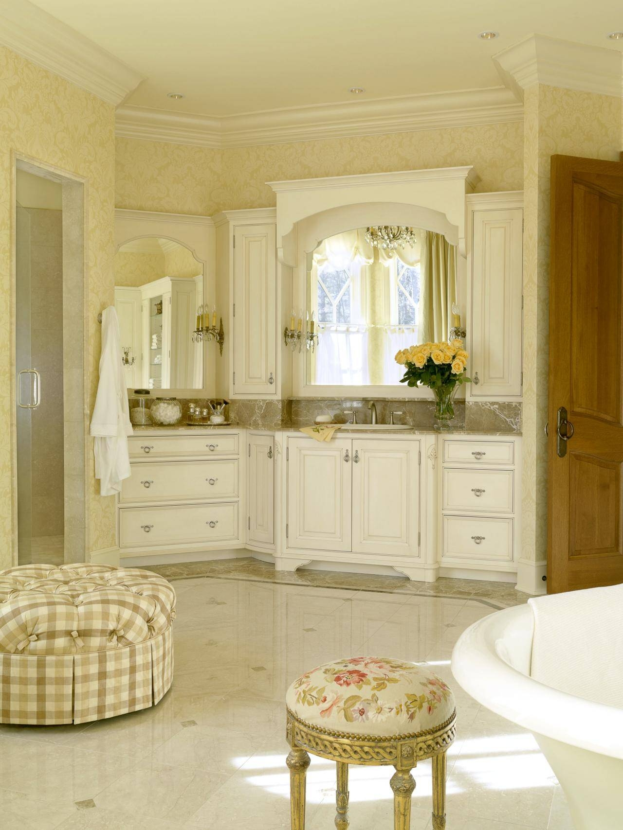 Old World French Bathroom Mirrors | Home in Old French Mirrors (Image 23 of 25)