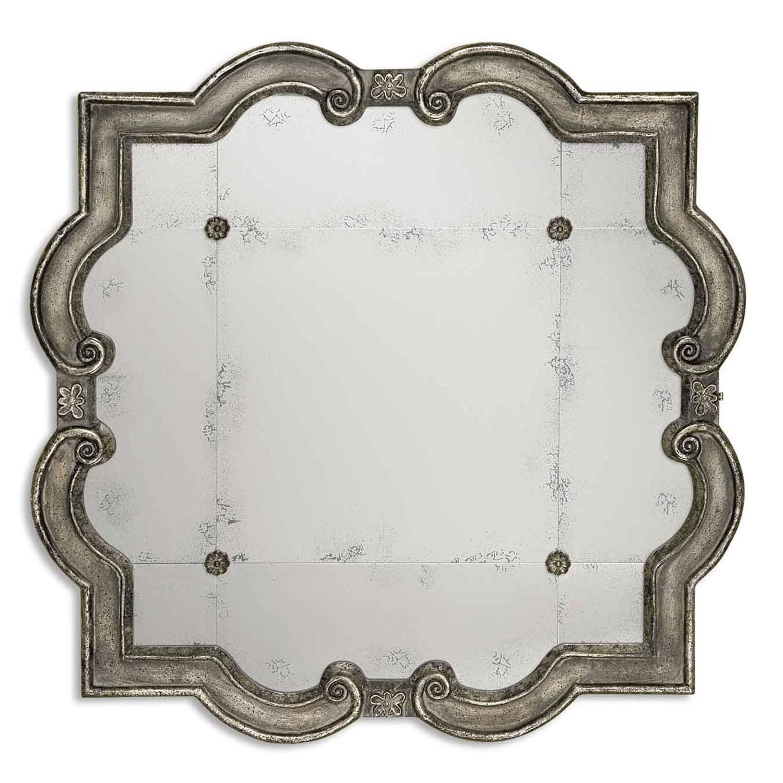 Old World Mirrors | Bellacor regarding Baroque White Mirrors (Image 19 of 25)