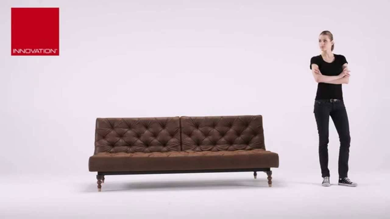 Oldschool Vintage Leather Chesterfield Sleeper Sofa Bed At Zin inside Vintage Leather Sofa Beds (Image 15 of 30)