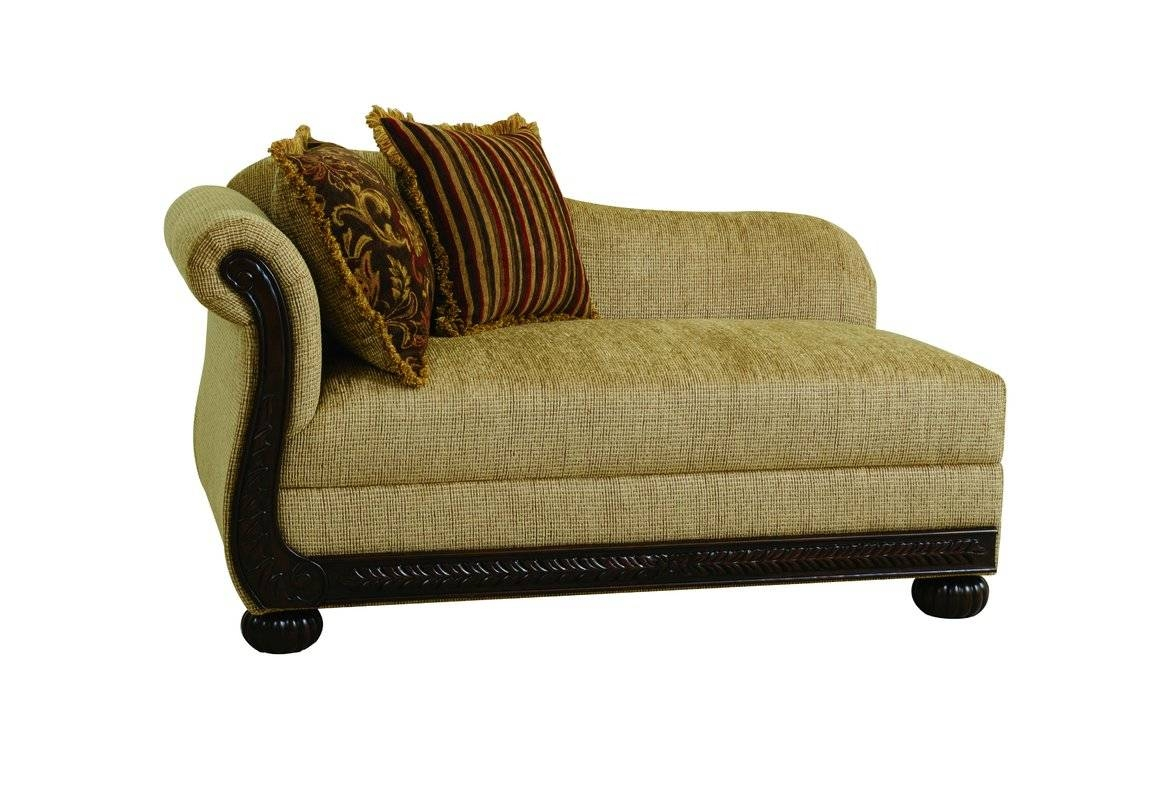 One Arm Chaise Lounge Chairs You'll Love | Wayfair inside Angled Chaise Sofa (Image 13 of 30)