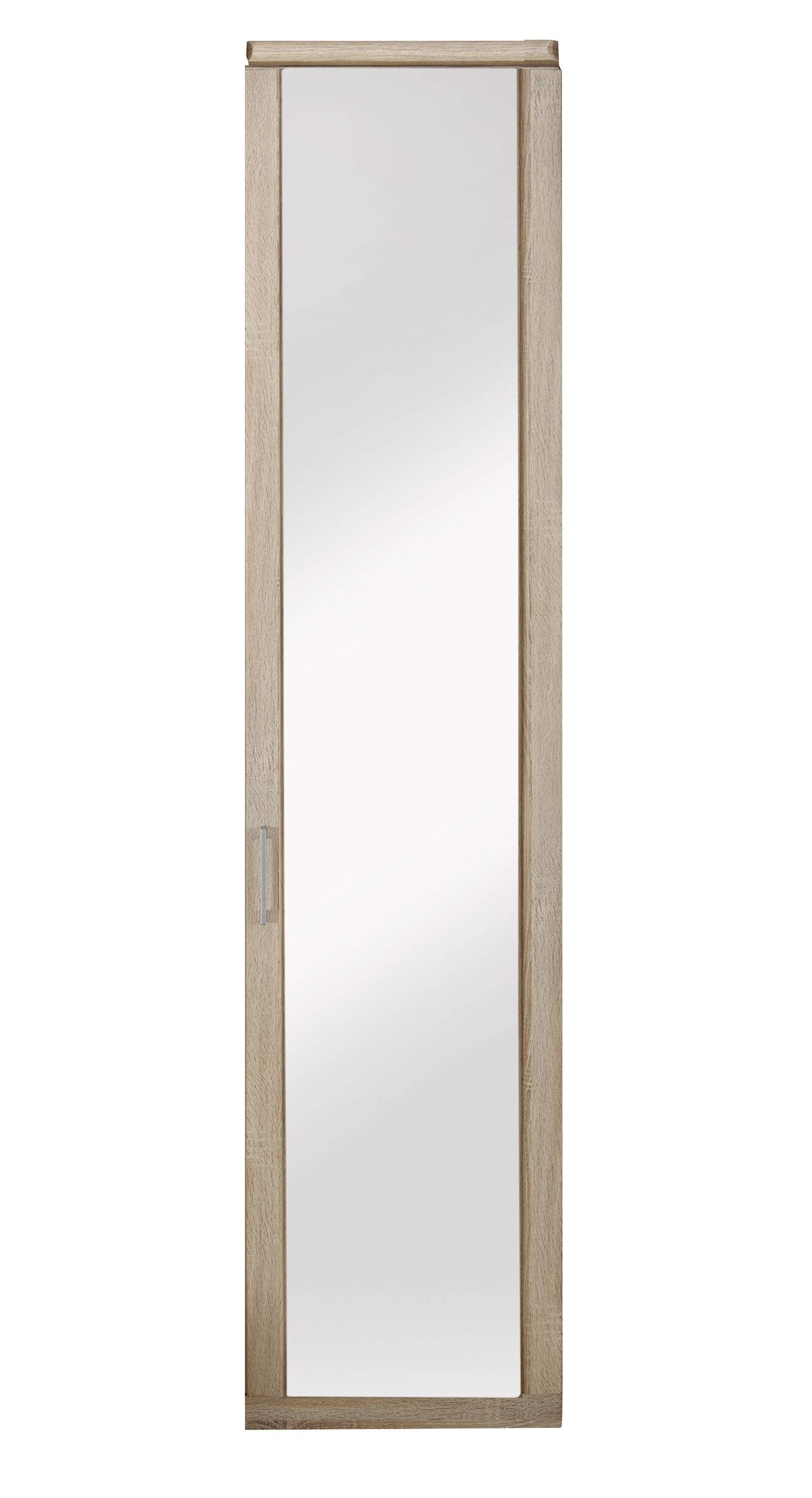 Featured Photo of One Door Mirrored Wardrobes