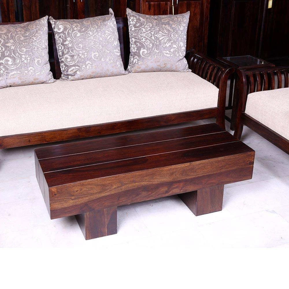 Online Furniture - Designer Low Height Coffee Table 46 X 18 Inches pertaining to Low Height Coffee Tables (Image 28 of 30)