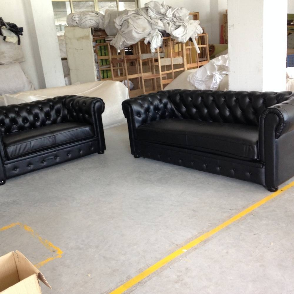 Online Get Cheap Black Chesterfield Sofa -Aliexpress | Alibaba with regard to Cheap Black Sofas (Image 17 of 30)