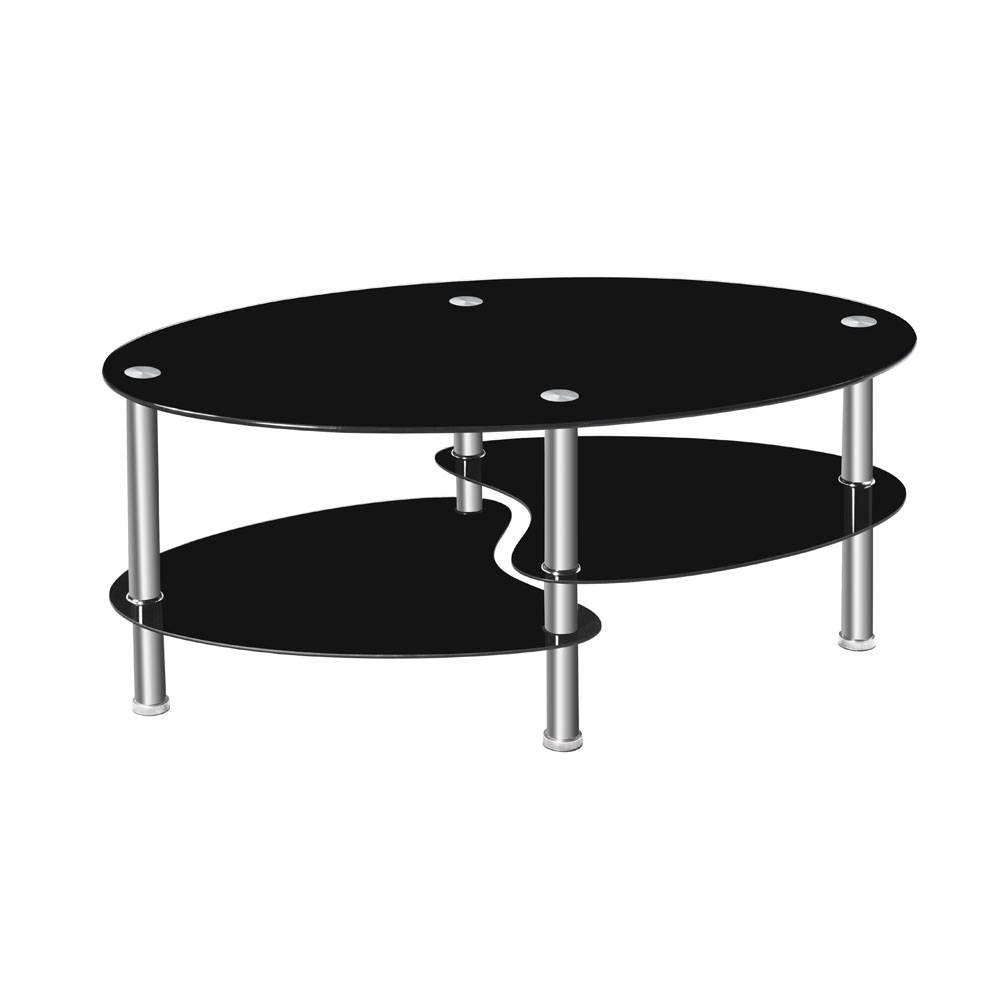 Online Get Cheap Black Glass Coffee Table -Aliexpress pertaining to Black Glass Coffee Tables (Image 23 of 30)