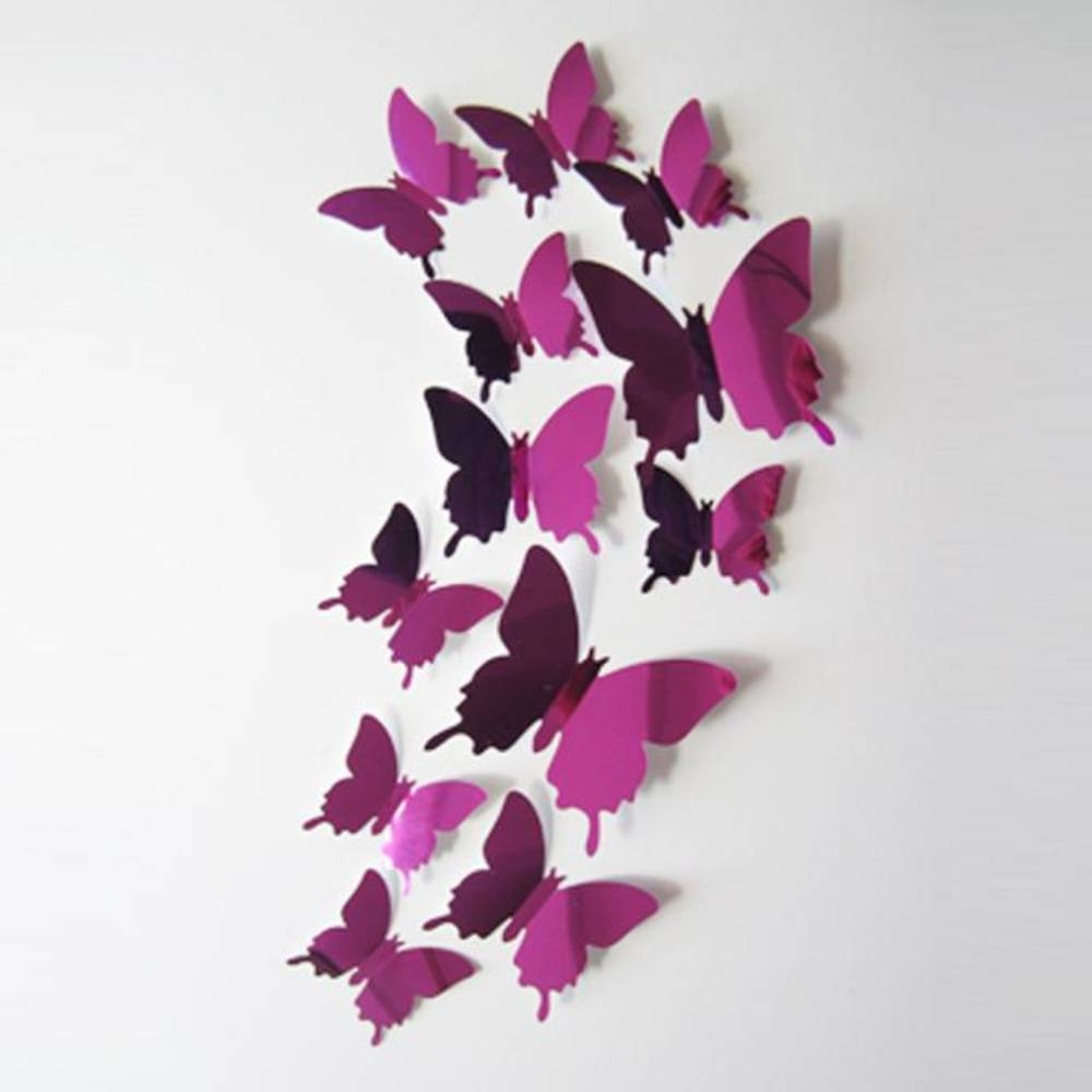 Online Get Cheap Butterfly Wall Mirror -Aliexpress | Alibaba Group for Butterfly Wall Mirrors (Image 13 of 25)