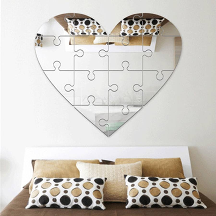 Online Get Cheap Gold Wall Mirror -Aliexpress | Alibaba Group pertaining to Heart Shaped Mirrors for Wall (Image 14 of 25)