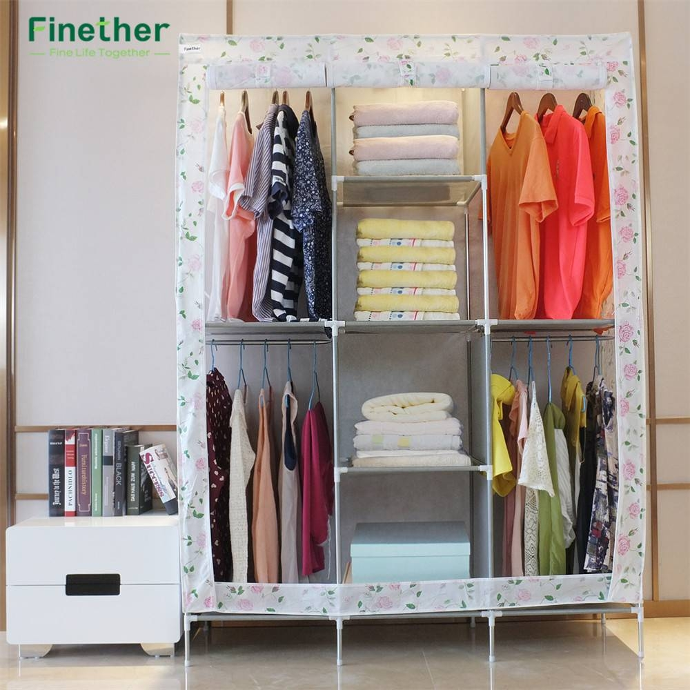Online Get Cheap Metal Wardrobe -Aliexpress | Alibaba Group pertaining to Discount Wardrobes (Image 22 of 30)