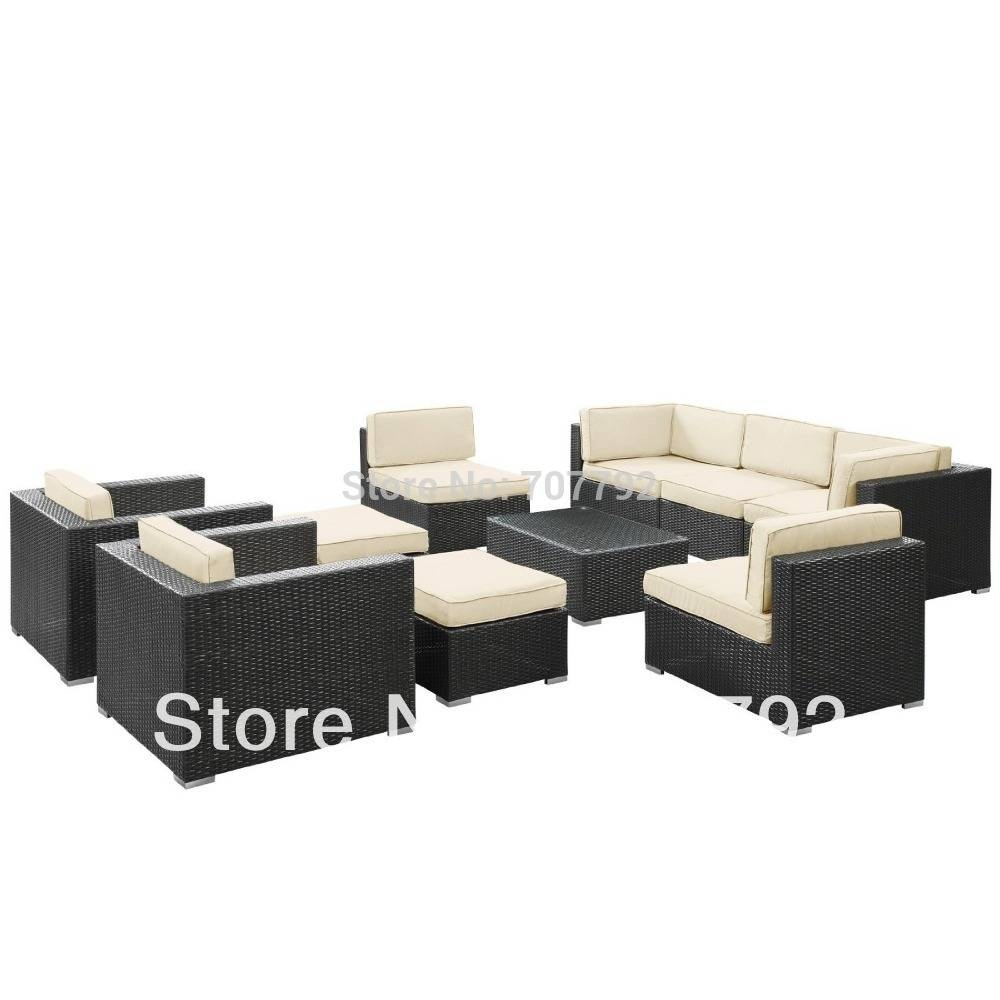 Online Get Cheap Patio Sectional Set -Aliexpress | Alibaba Group in 10 Piece Sectional Sofa (Image 19 of 30)