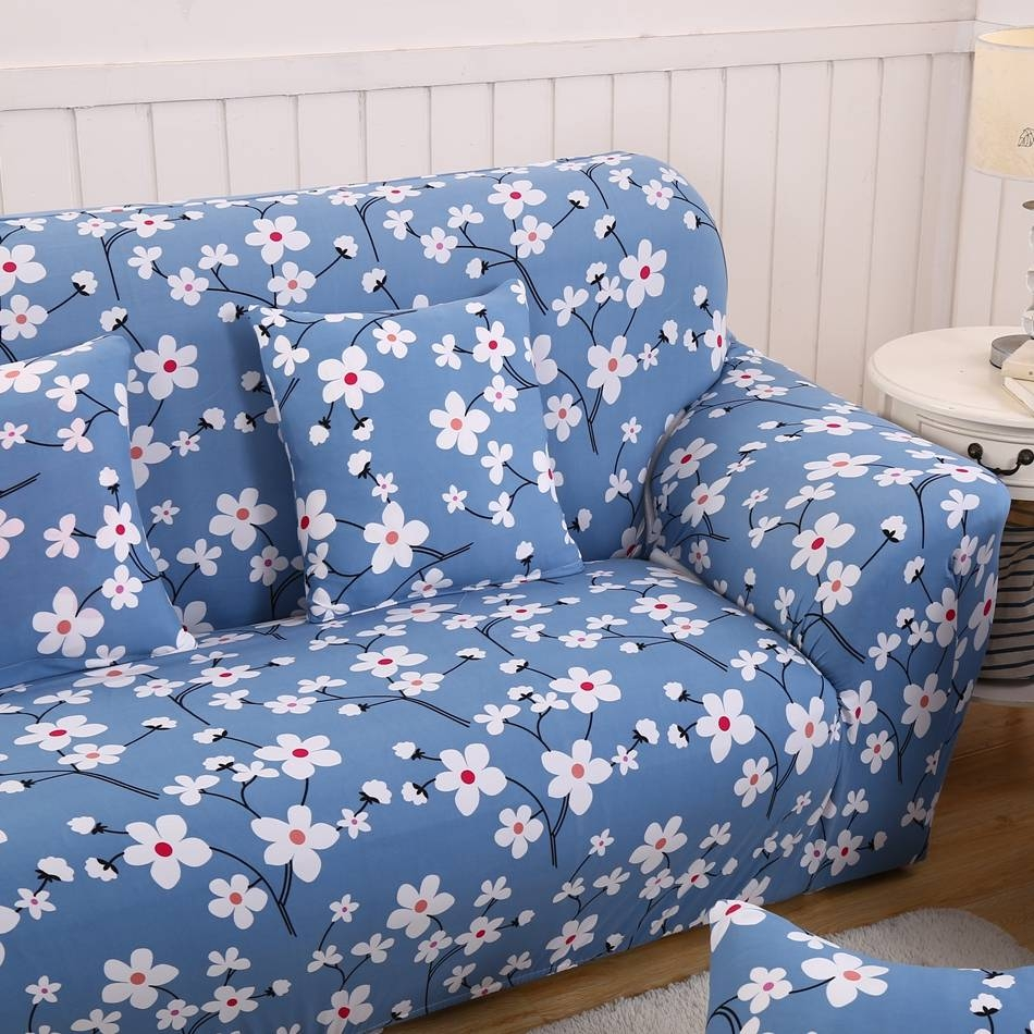 Online Get Cheap Print Sofa Slipcovers -Aliexpress | Alibaba Group in Teal Sofa Slipcovers (Image 17 of 30)