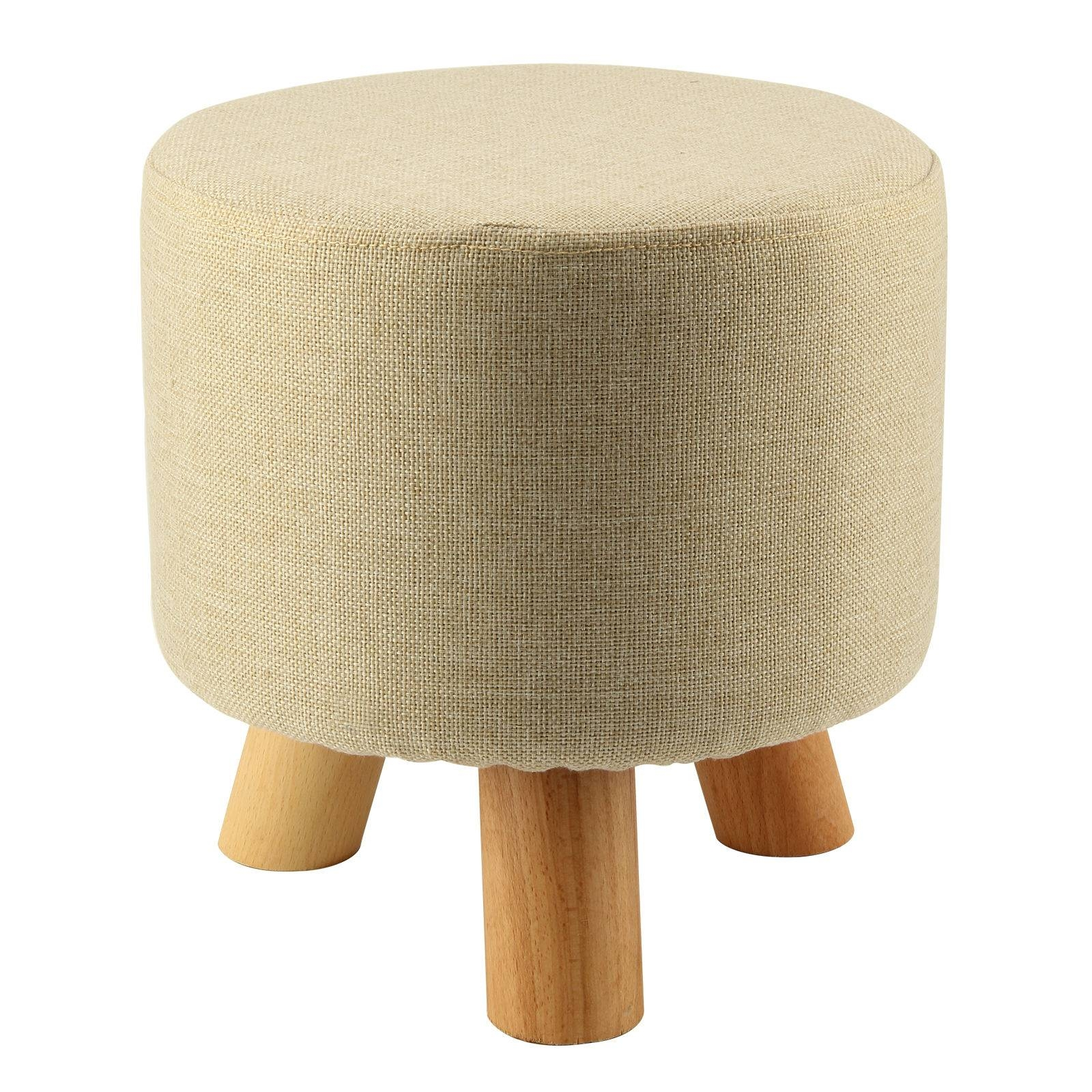 Online Get Cheap Round Footstool -Aliexpress | Alibaba Group in Upholstered Footstools (Image 13 of 30)