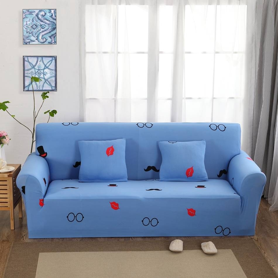 Online Get Cheap Sofa Slipcovers Blue -Aliexpress | Alibaba Group within Teal Sofa Slipcovers (Image 18 of 30)