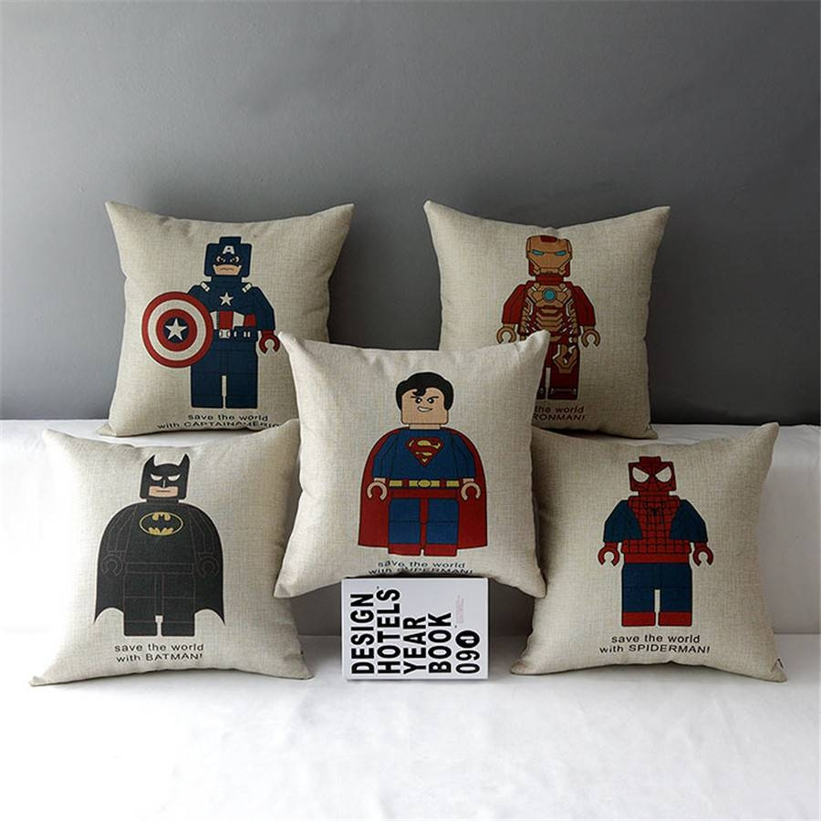 Online Get Cheap Spiderman Sofa Chair -Aliexpress | Alibaba Group with Cotton Throws For Sofas And Chairs (Image 10 of 30)
