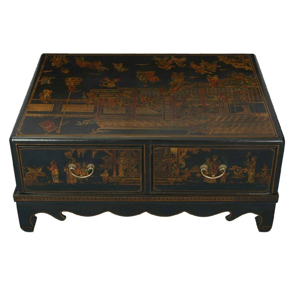 Oriental Coffee Table Ideas — Liberty Interior regarding Asian Coffee Tables (Image 23 of 30)