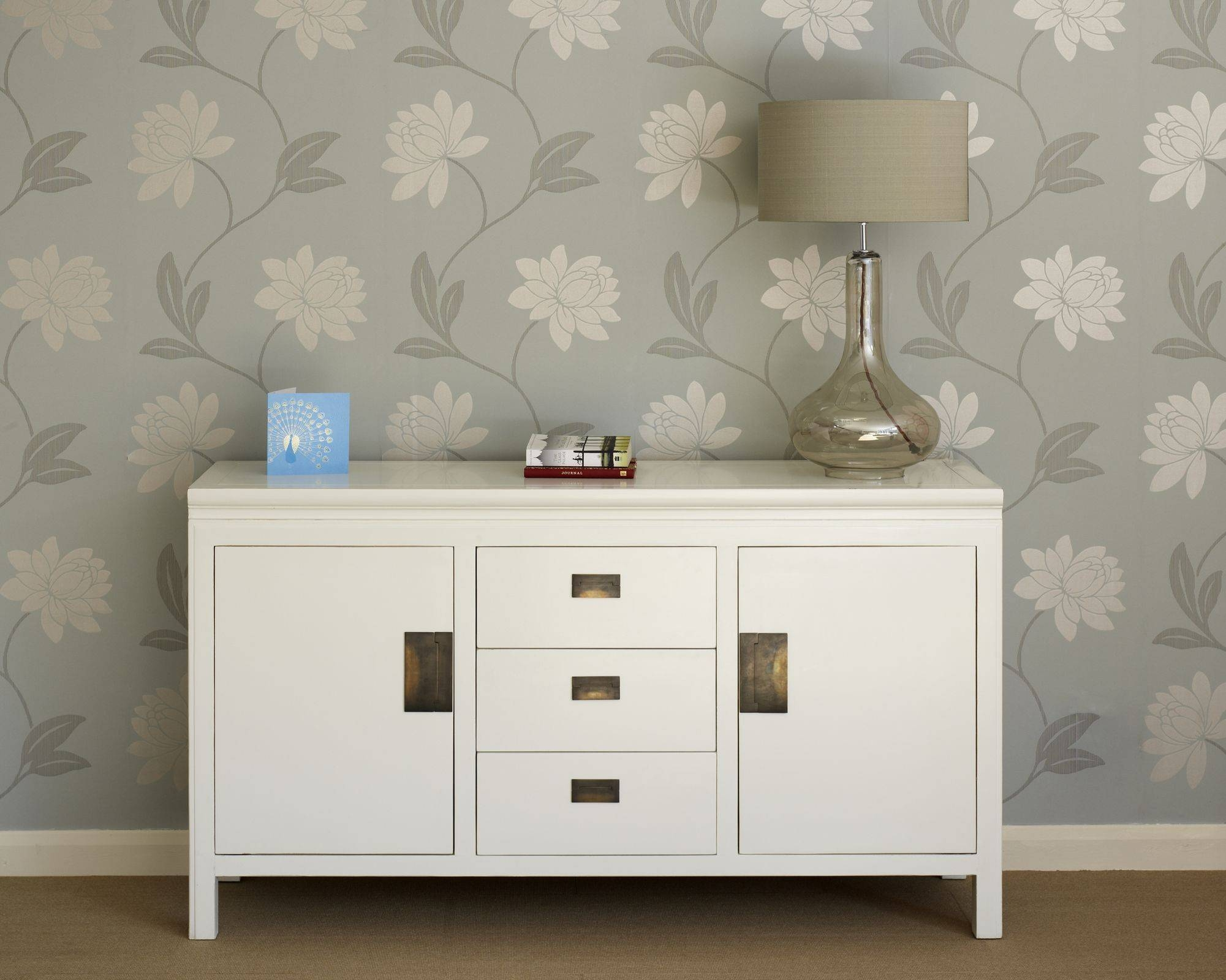 Oriental White Lacquer Sideboards - Shanxi regarding White Sideboards (Image 12 of 30)