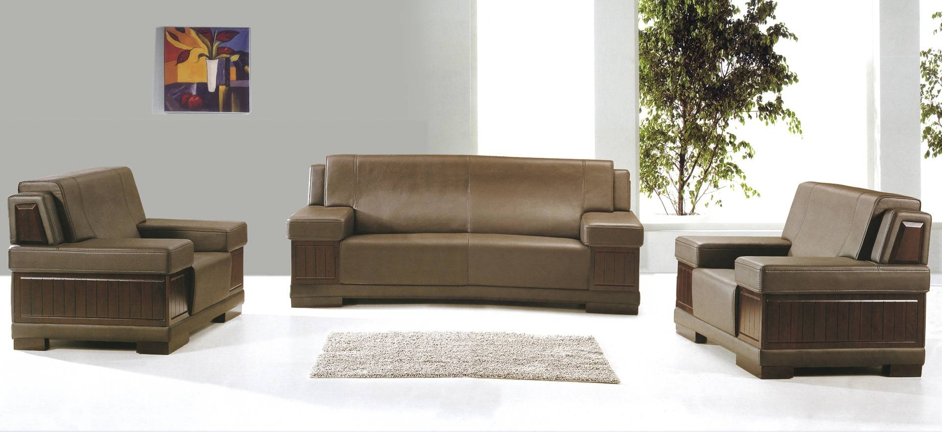 Origin Deals Modern Pu Leather Office Sofa Wealthy High-End Office pertaining to High End Sofa (Image 23 of 30)
