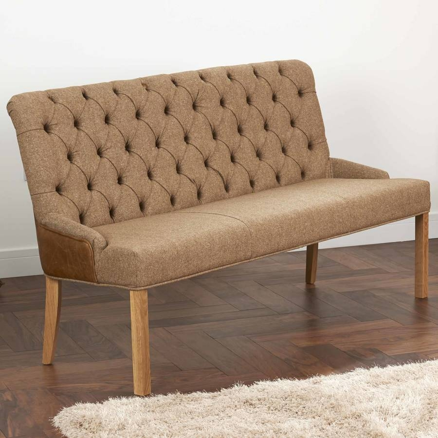 Featured Photo of Leather Bench Sofas