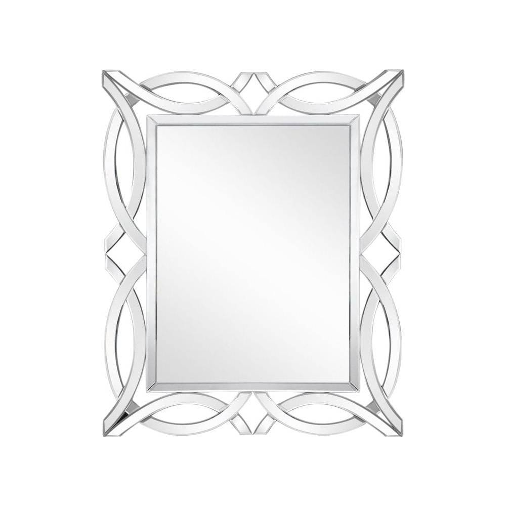 Ornate Cross Over Rectangular Mirror From Fusion Living | Wall Mirrors inside Ornate Wall Mirrors (Image 20 of 25)
