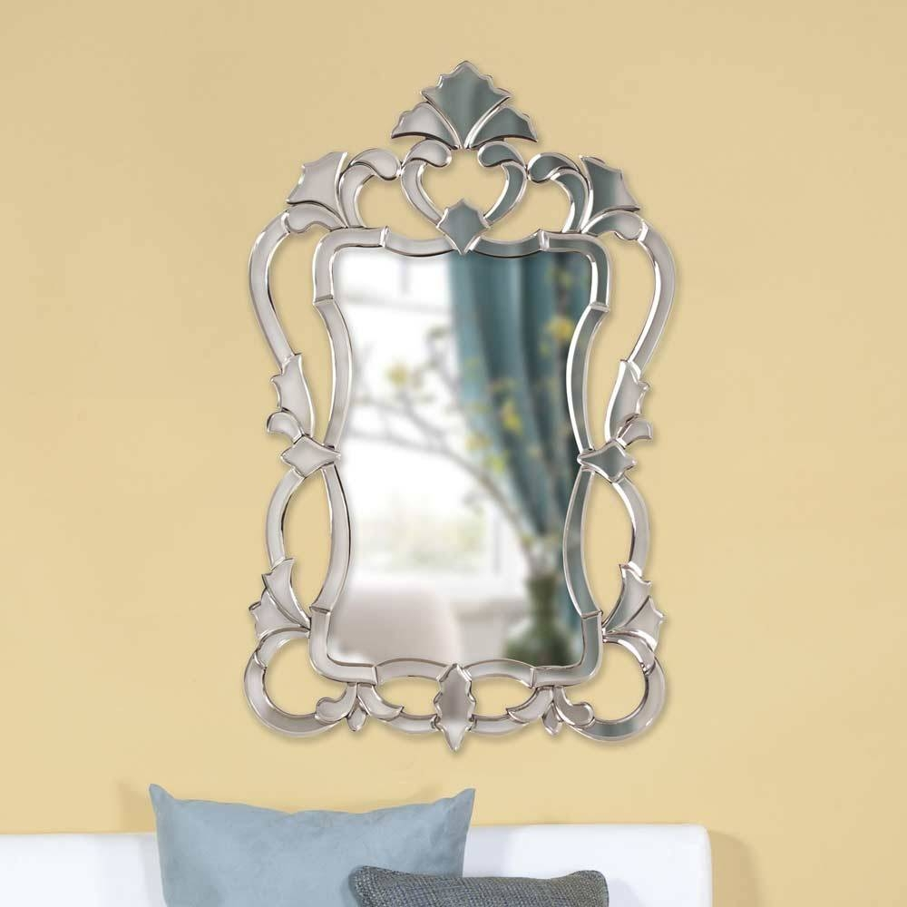 Ornate Frame Venetian Designer Wall Mirror Hre 103 | Accent Mirrors inside Venetian Wall Mirrors (Image 17 of 25)