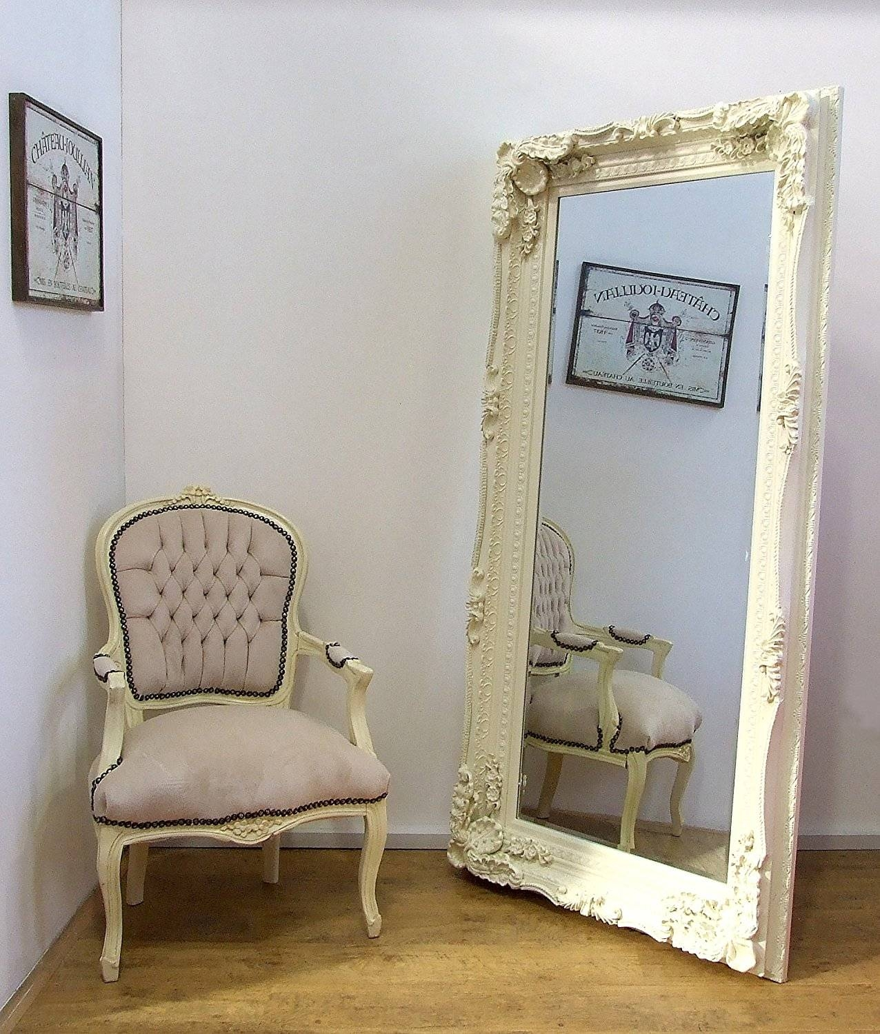 Ornate Mirrors For Sale 108 Outstanding For Carved Louis Large regarding Cream Ornate Mirrors (Image 16 of 25)