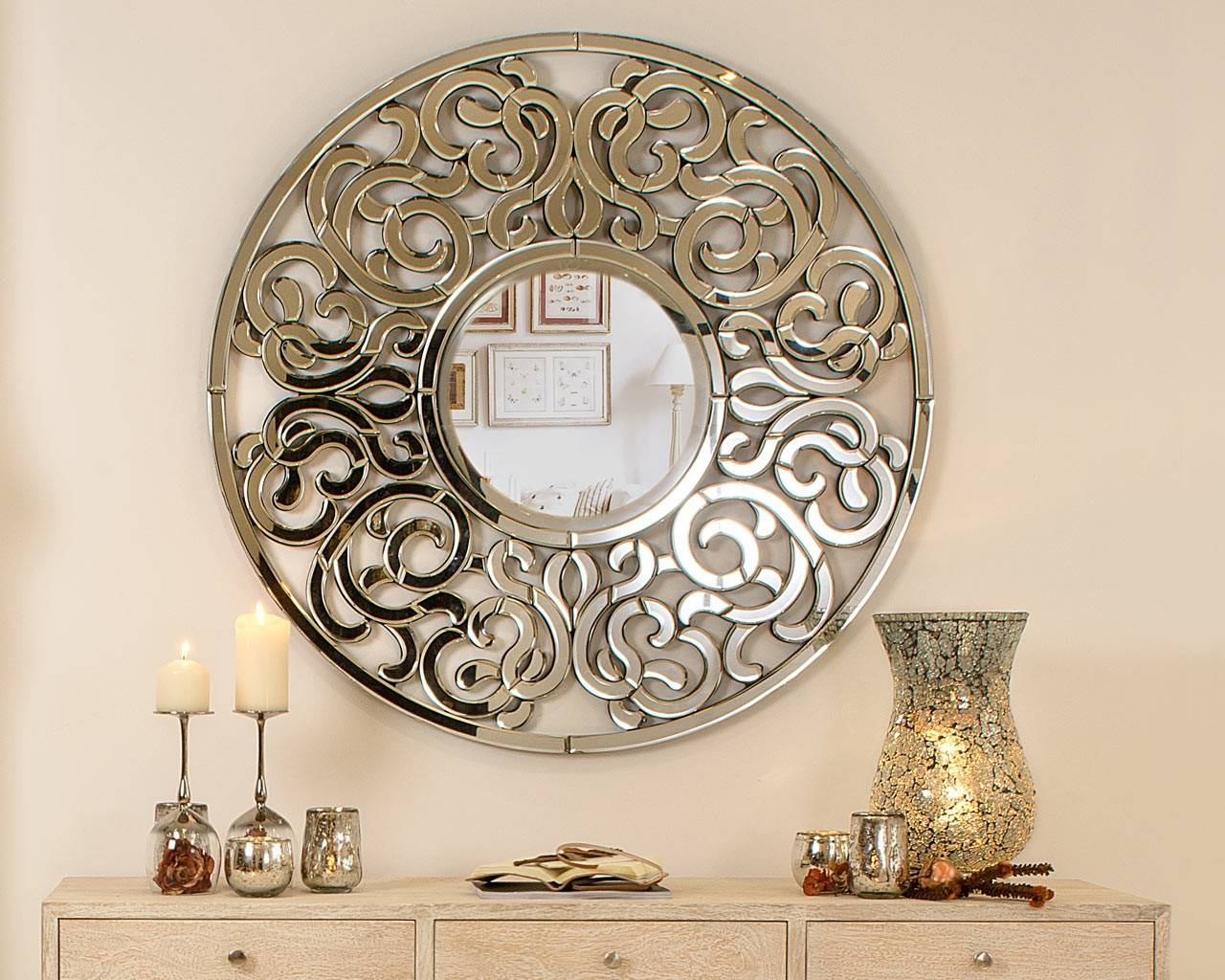 Featured Photo of Ornate Round Mirrors