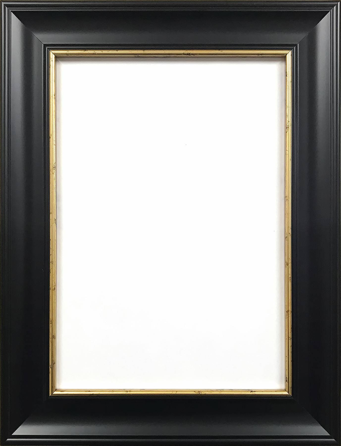 Ornate Shabby Chic Picture Frame Photo Frame Poster Frame Black Intended For Black Shabby Chic Mirrors (View 13 of 25)