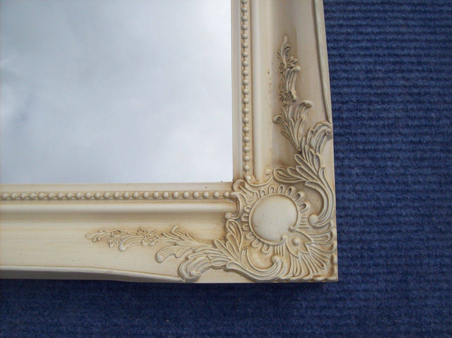 Ornate Wall Mirror in Ivory Ornate Mirrors (Image 20 of 25)