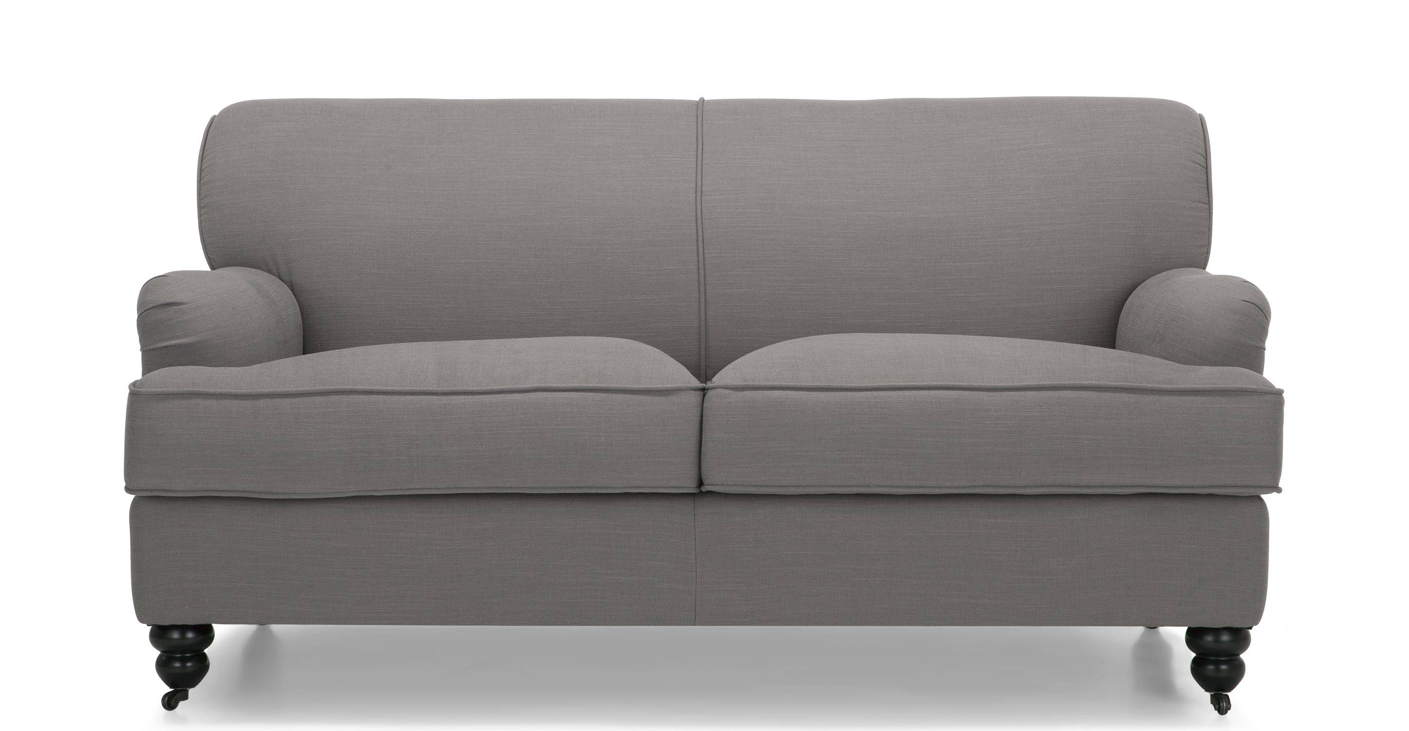 Orson 2 Seater Sofa, Graphite Grey | Made regarding 2 Seater Sofas (Image 18 of 30)