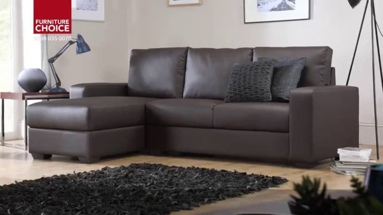 Oslo Storage Leather Corner Sofasfurniture Choice - Youtube throughout Leather Corner Sofas (Image 24 of 30)