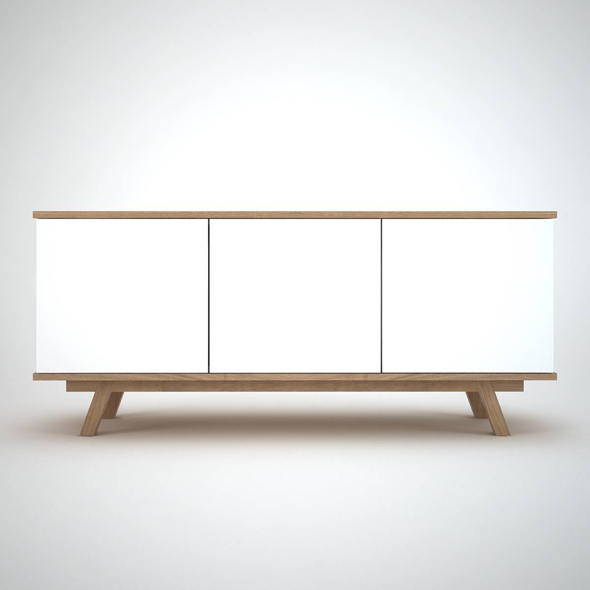 Ottawa Sideboard (3) White - Join Furniture with White Modern Sideboards (Image 20 of 30)