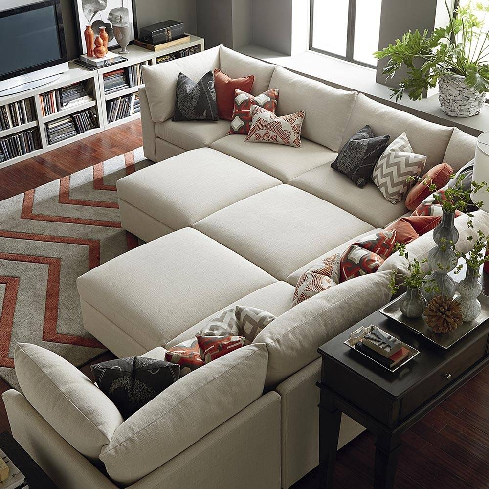 Ottoman - Beckham | Living Room | Bassett Furniture in Bassett Sofa Bed (Image 17 of 30)