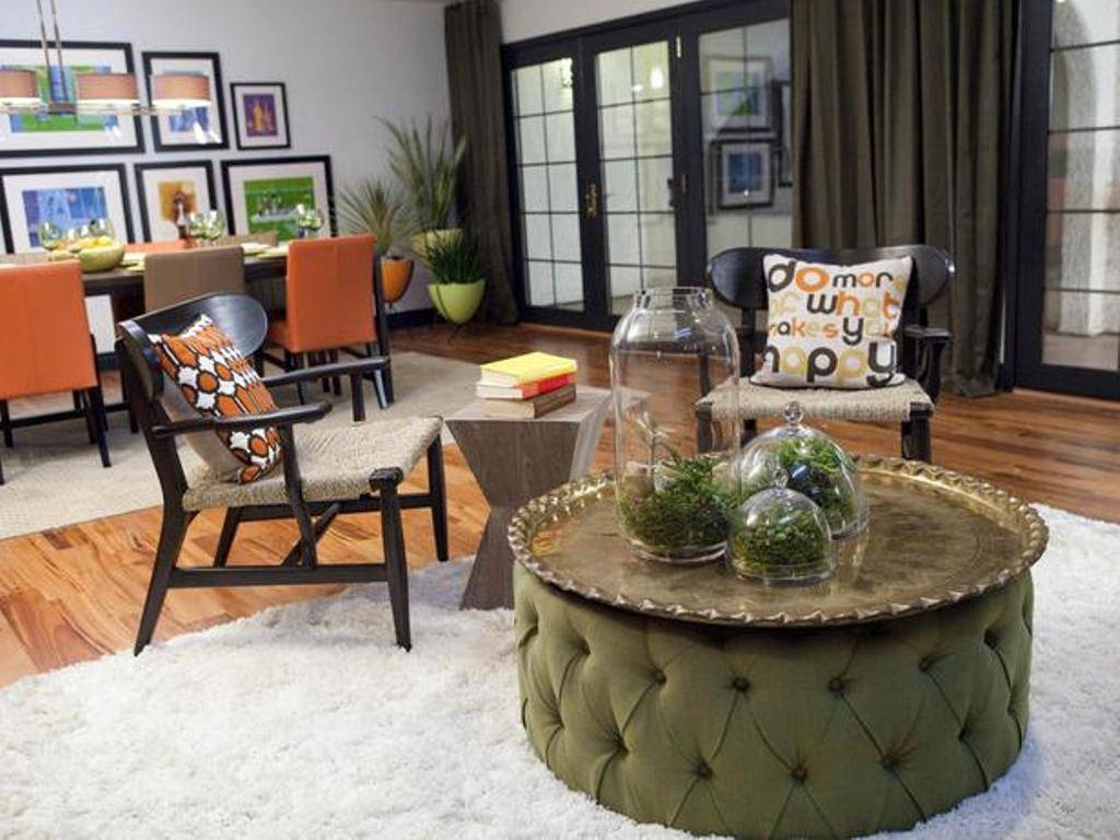 Ottoman Coffee Table Decorating Ideas | Roselawnlutheran in Green Ottoman Coffee Tables (Image 25 of 30)