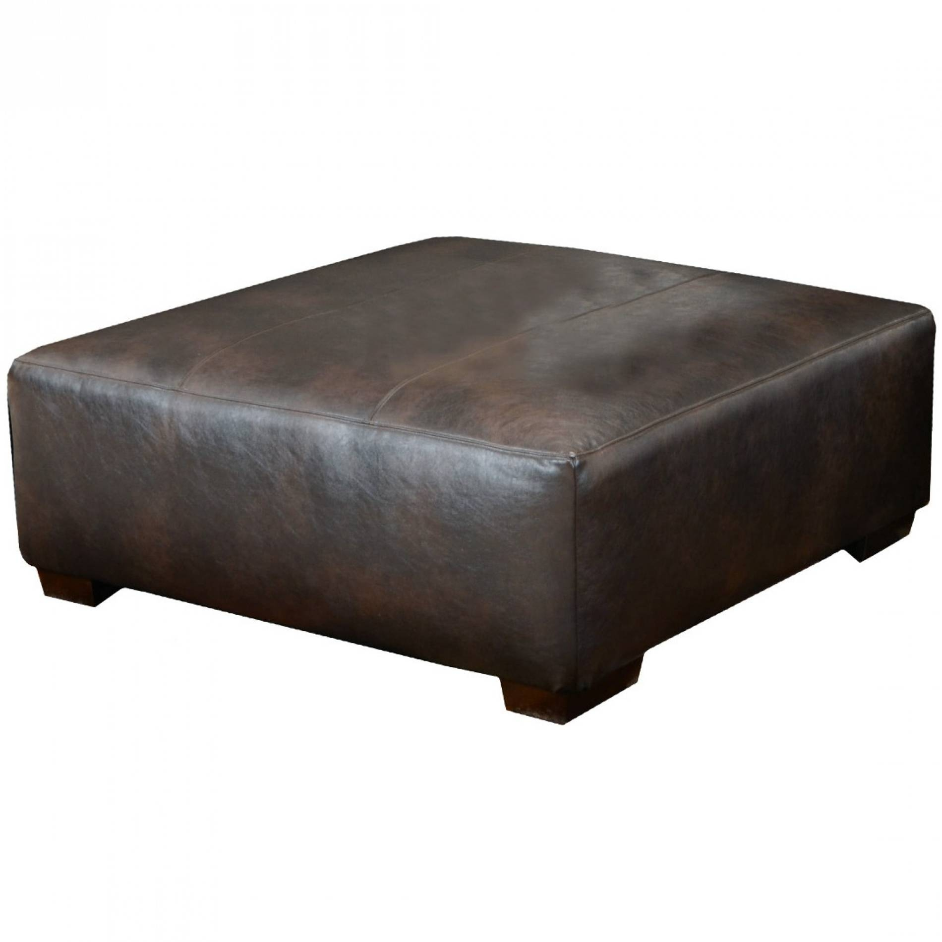 Ottomans : Astounding Abbyson Living Marseille Bicast Leather In Coffee Tables With Seating And Storage (View 21 of 30)