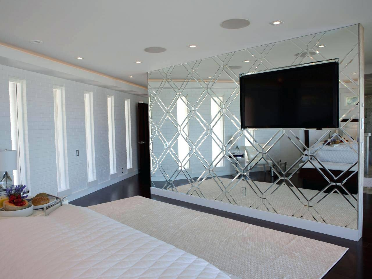 Our Gallery Of Imposing Decoration Bedroom Wall Mirrors Cozy Ideas with regard to Feature Wall Mirrors (Image 20 of 25)