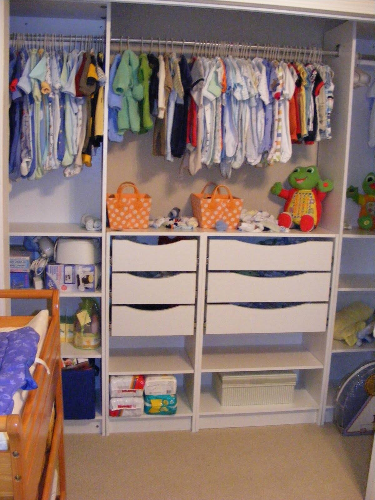 Our Under $100 Closet System - Ikea Hack - Southern Revivals in Wardrobe Drawers And Shelves Ikea (Image 20 of 30)