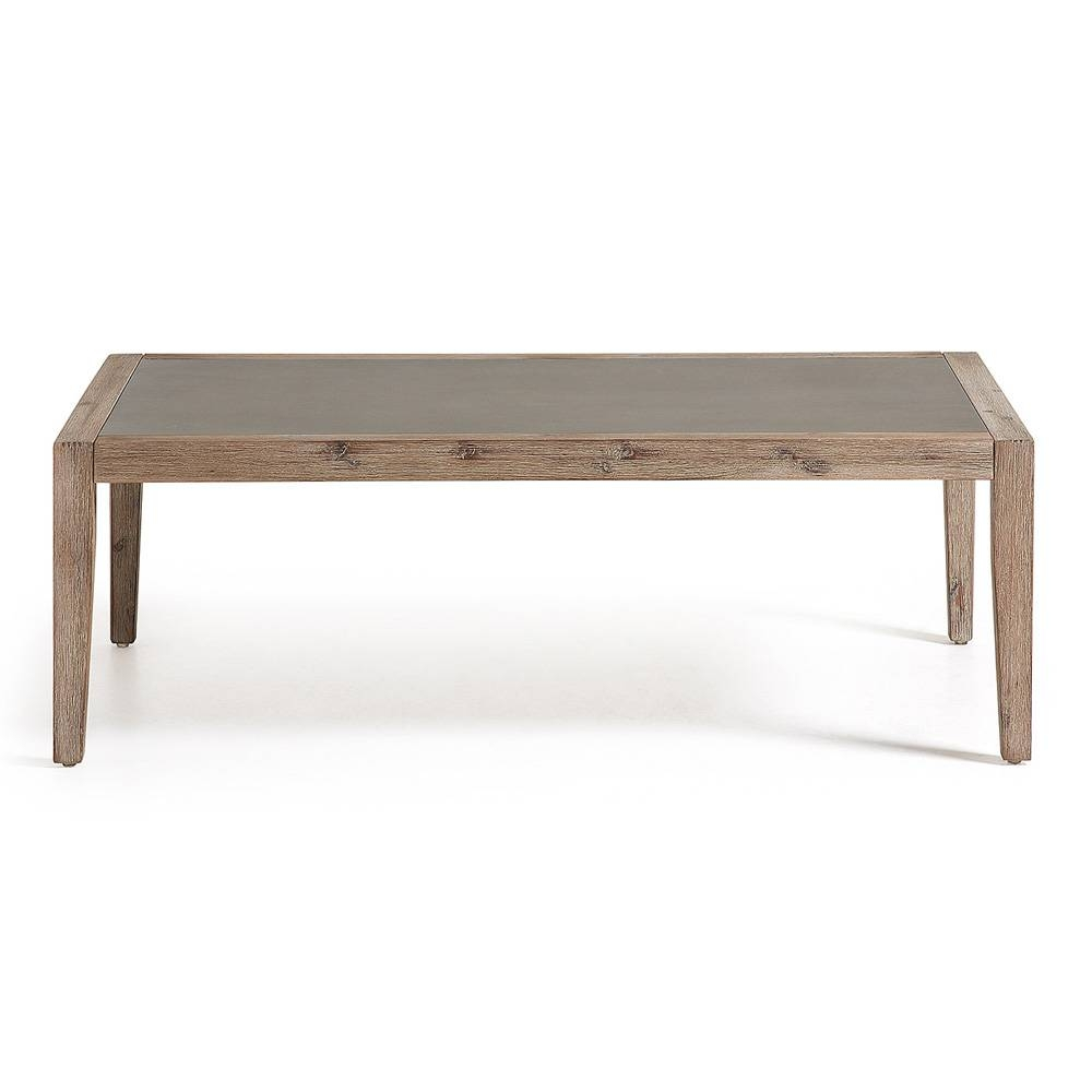 Outdoor Coffee Table Luke, Modern Design intended for Wooden Garden Coffee Tables (Image 21 of 30)