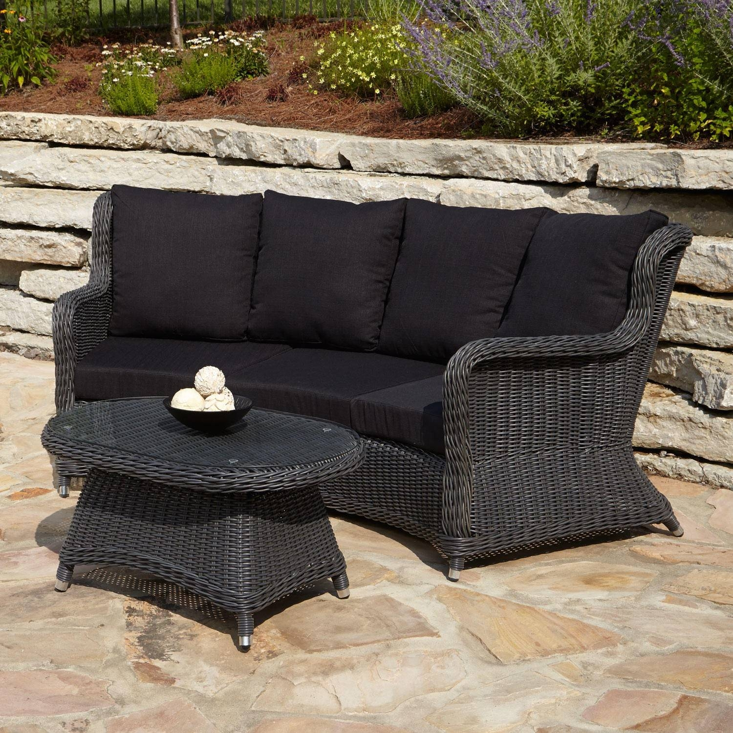 Outdoor Coffee Table Set | Roselawnlutheran within Patio Sofa Tables (Image 18 of 30)