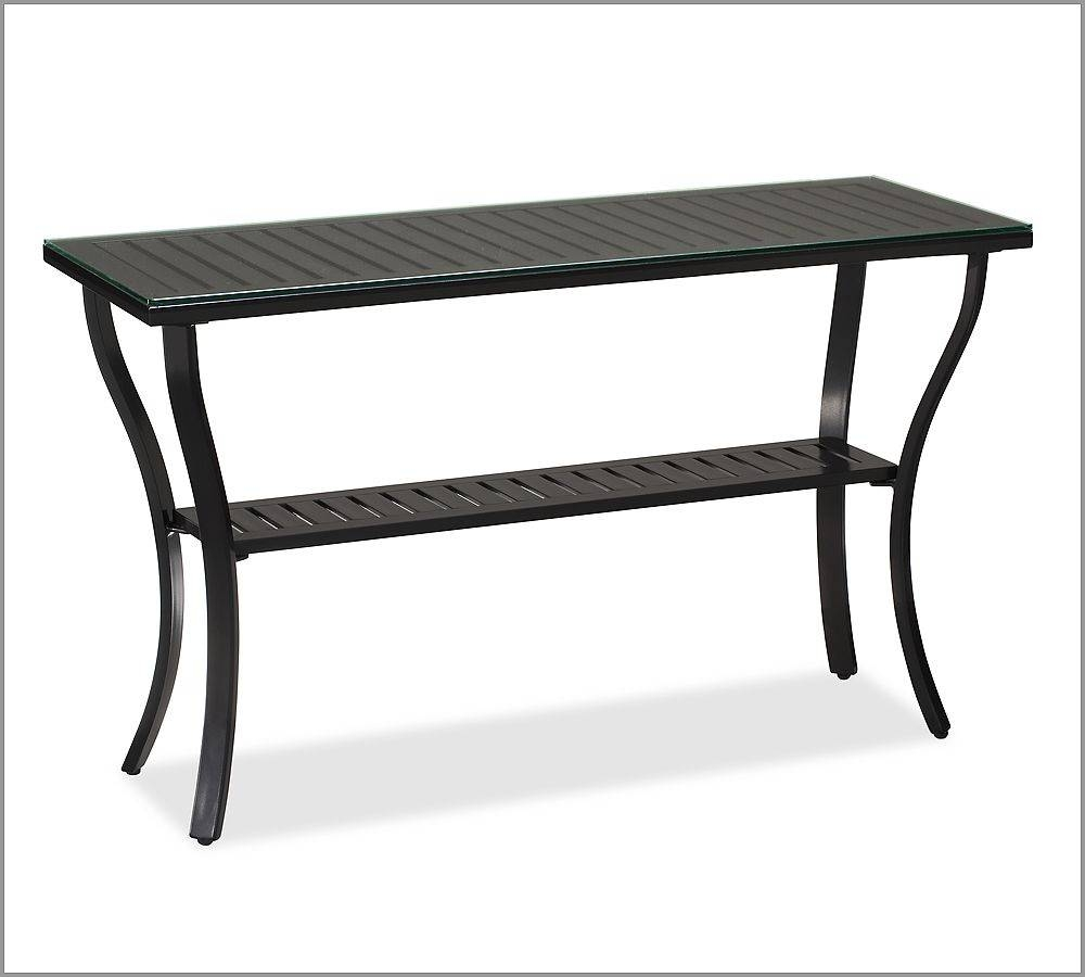 Outdoor Console Table | Home Designjohn with Patio Sofa Tables (Image 19 of 30)