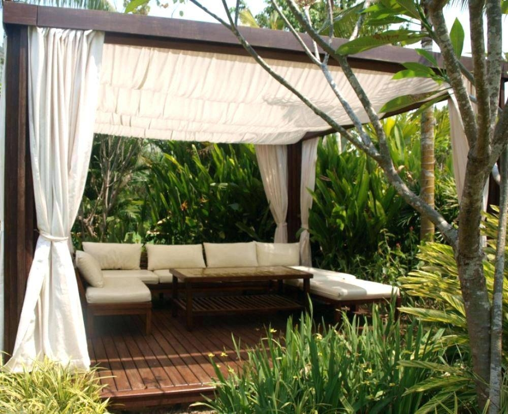 Outdoor Furniture Canopy – Creativealternatives.co regarding Outdoor Sofas With Canopy (Image 20 of 30)