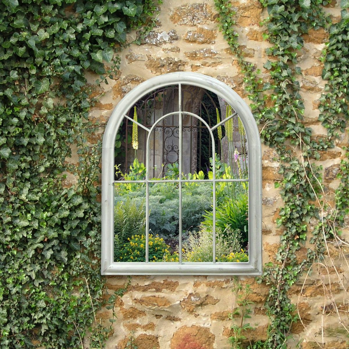Outdoor Garden Wall Mirrors. Perfect Outdoor Living With Outdoor throughout Garden Wall Mirrors (Image 22 of 25)