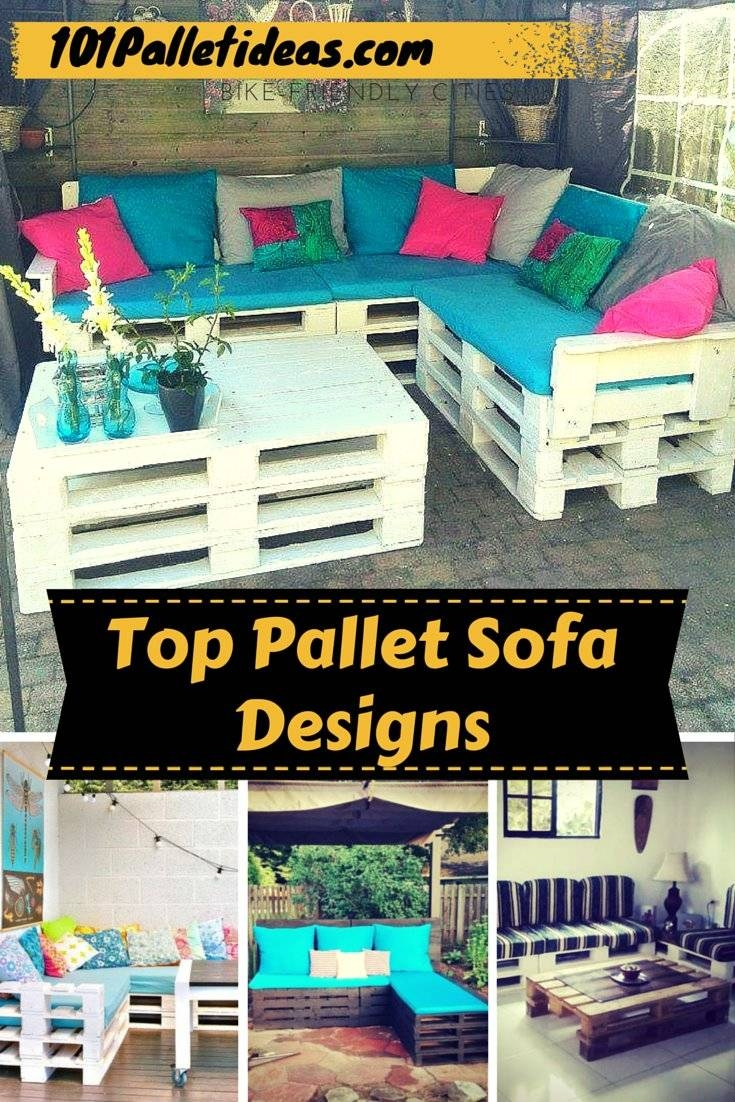 Outdoor Pallet Sofa With Lights - Diy within Sofas With Lights (Image 23 of 30)