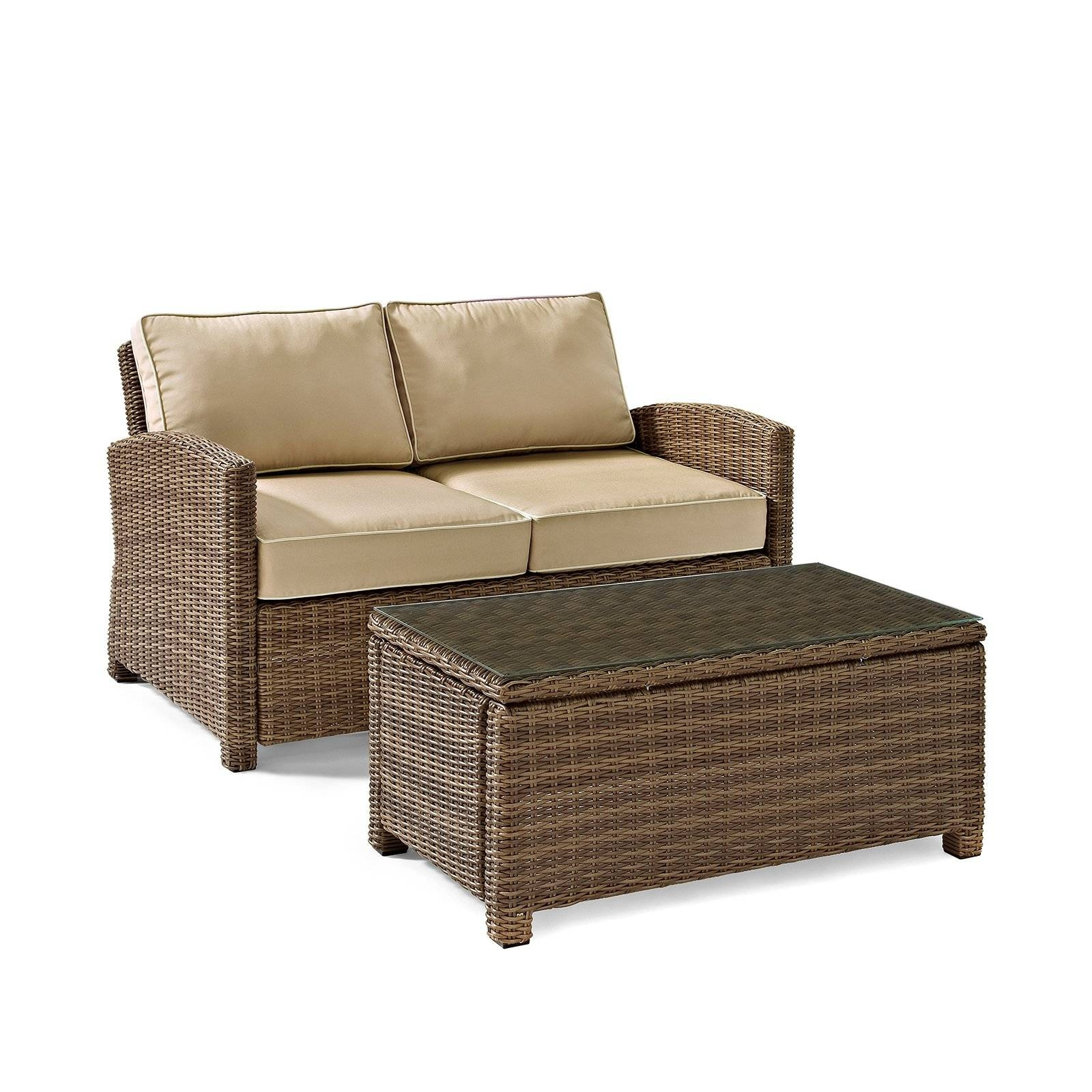 Outdoor Sofas & Outdoor Sectionals - Walmart inside Outdoor Sofa Chairs (Image 21 of 30)