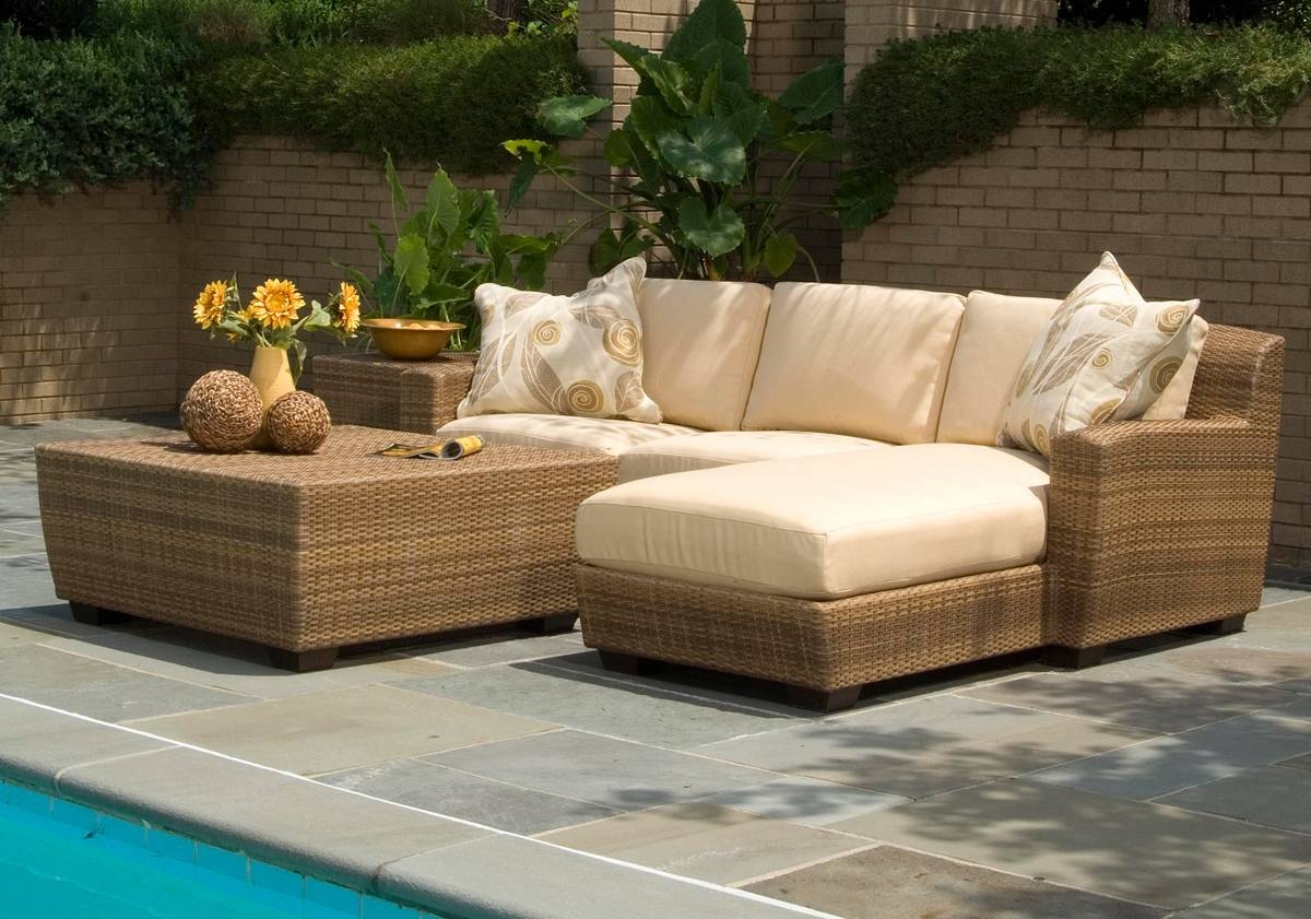 Outdoor Wicker Furniture - Patio Productions pertaining to Outdoor Sofa Chairs (Image 22 of 30)