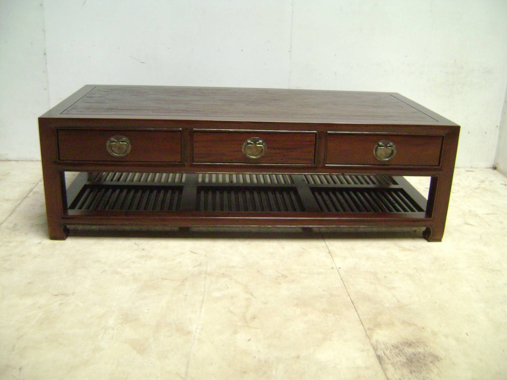 Outstanding Chinese Coffee Table Asian Style Furniture – Black for Low Coffee Tables (Image 27 of 30)