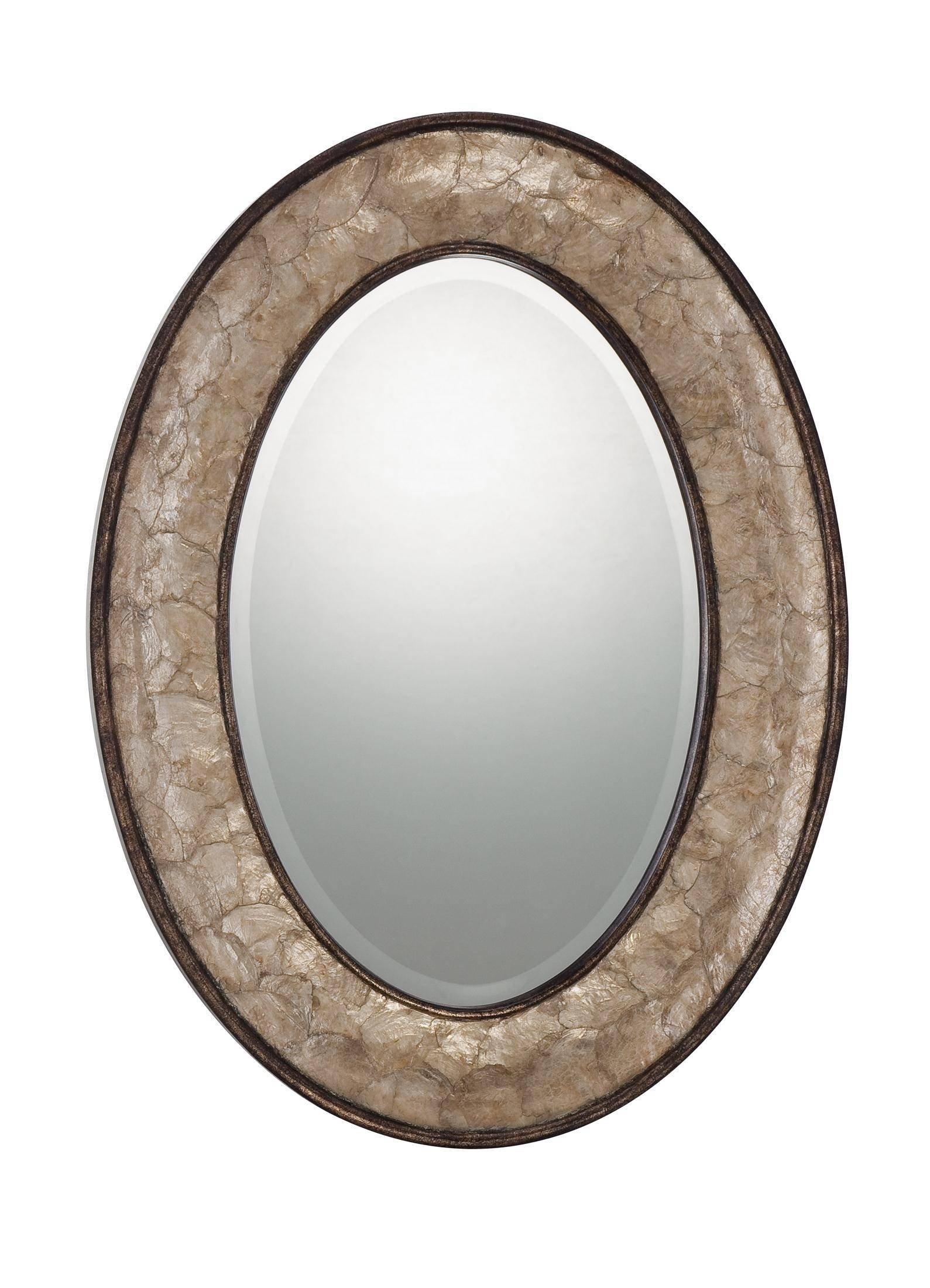 Oval Bathroom Mirrors Beautiful | Home Designjohn for Oval Wall Mirrors (Image 18 of 25)