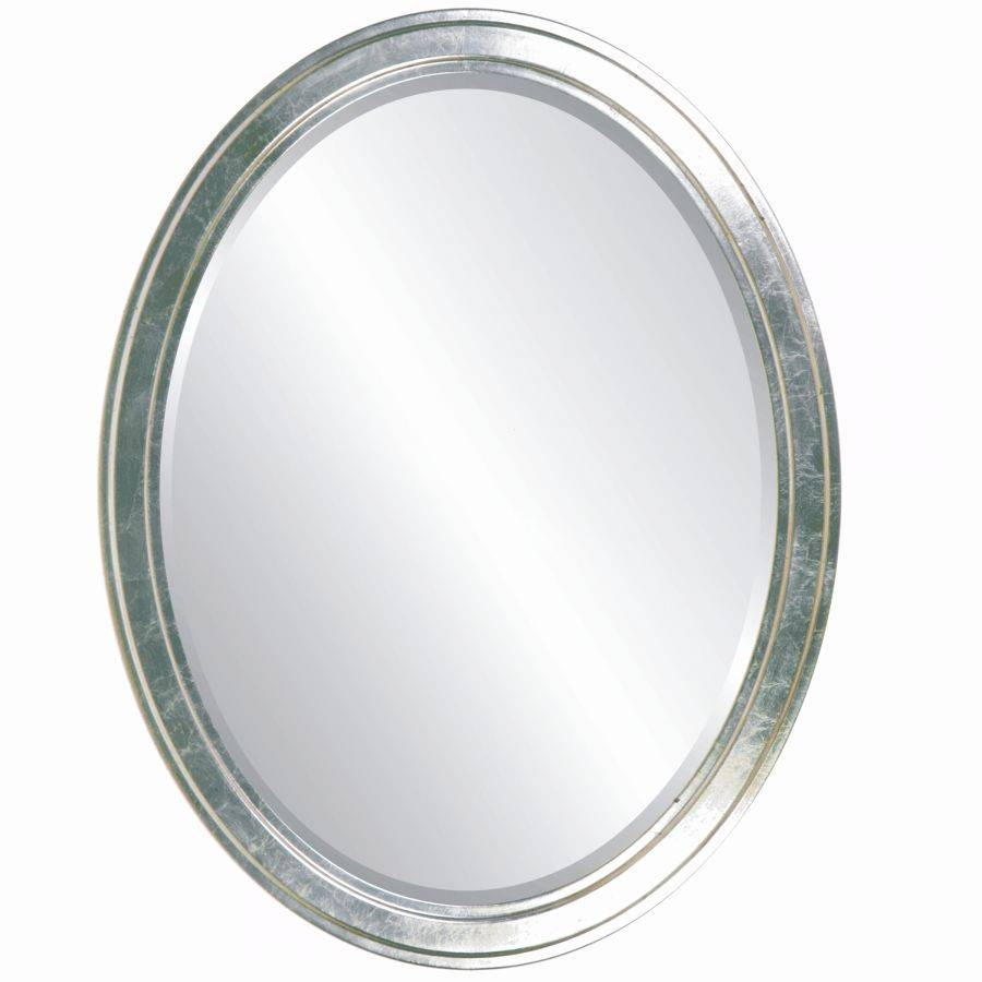 Oval Bathroom Mirrors Beautiful | Home Designjohn in Oval Silver Mirrors (Image 14 of 25)